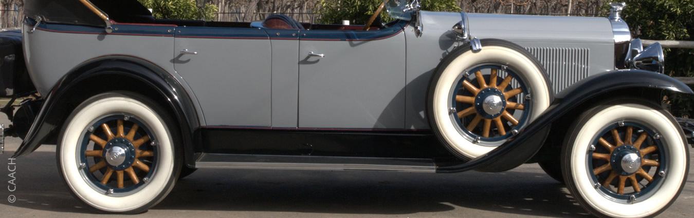 Buick Touring Car 7 pasajeros 1929